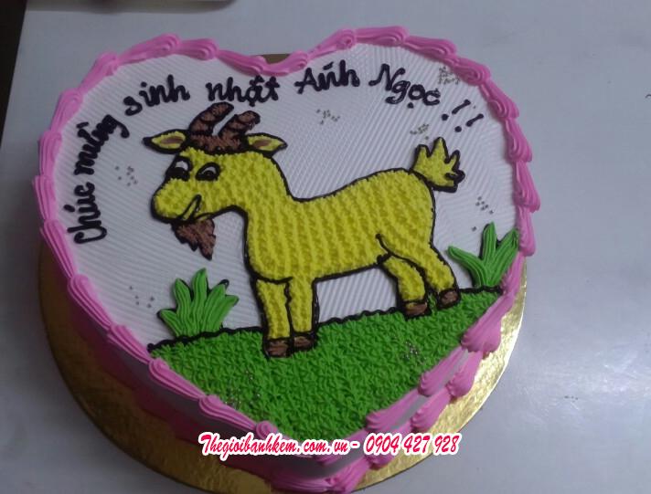 Bánh sinh nhật Mã B1704