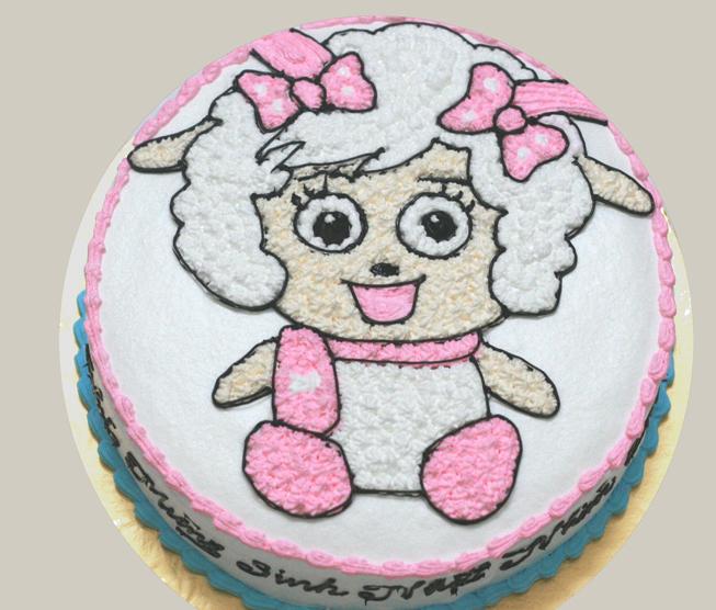 Bánh sinh nhật cừu Mã B1708