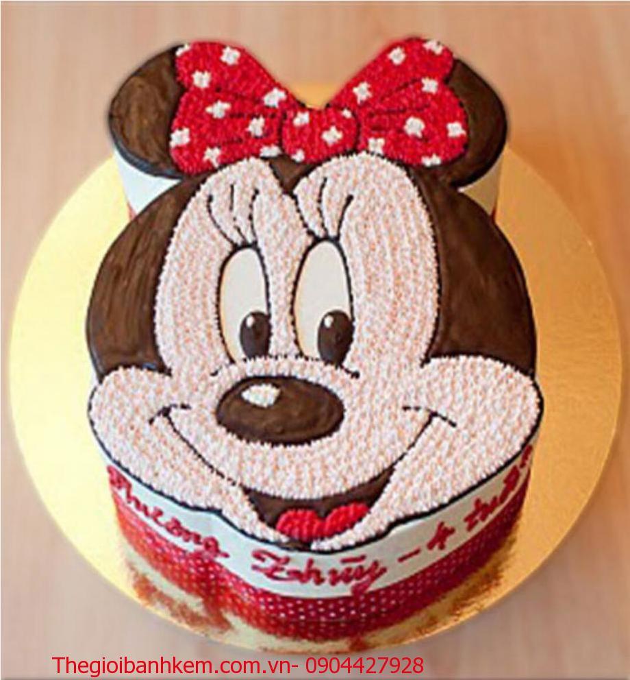 Bánh sinh nhật chuột Minnie Mã B1441