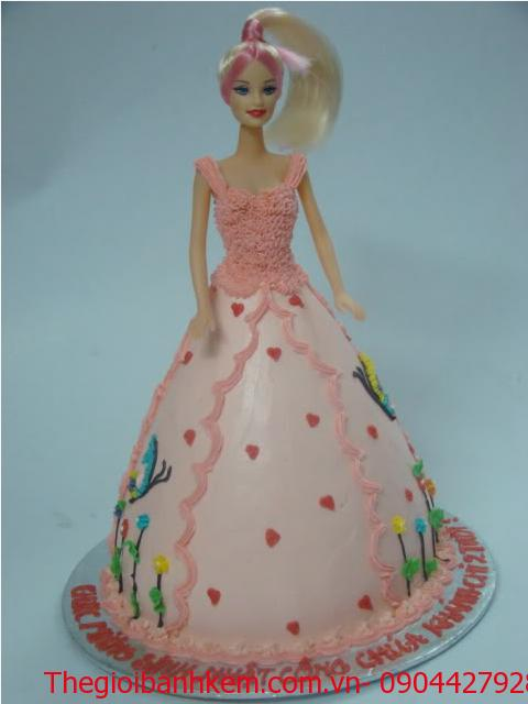 Bánh sinh nhật công chúa 3D Mã B1224