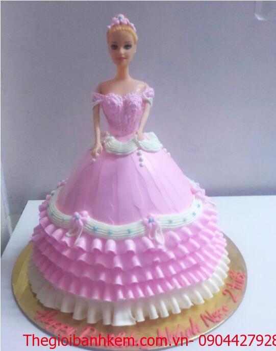 Bánh sinh nhật công chúa Mã B2641