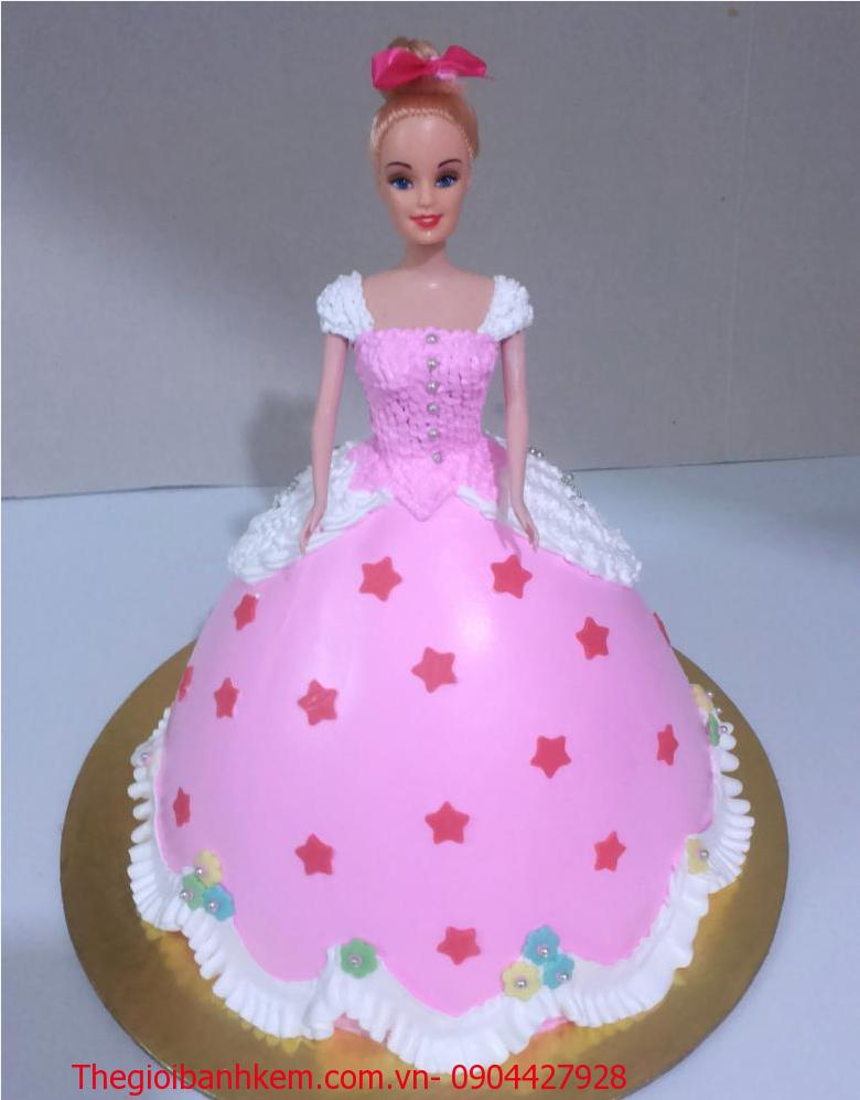 Bánh công chúa 3D Mã B2655