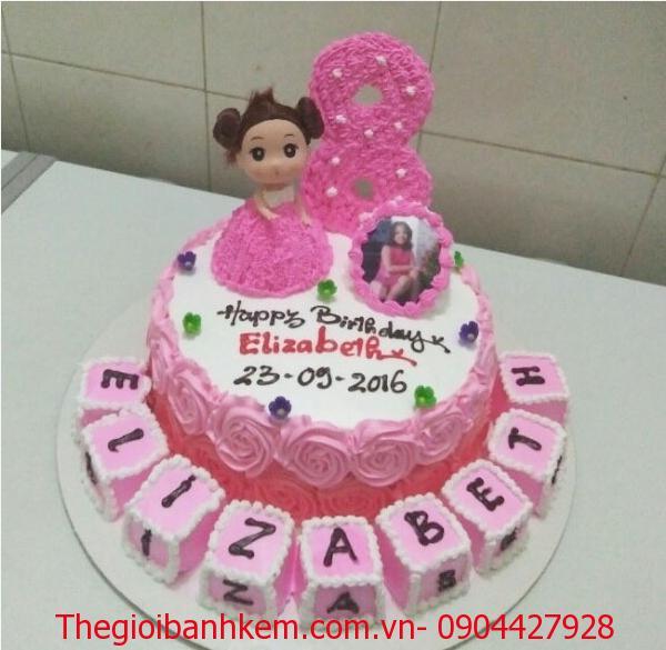 Bánh sinh nhật công chúa Mã B3707