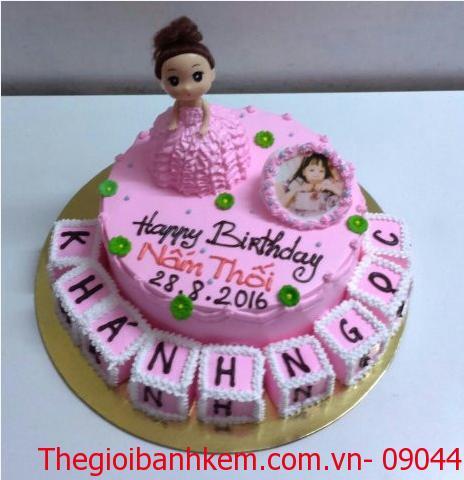 Bánh kem công chúa Mã B5307