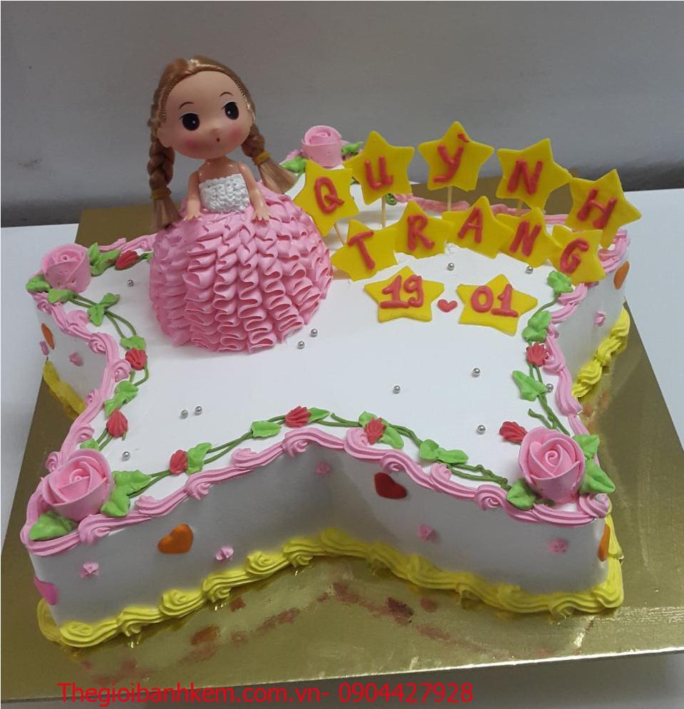 Bánh kem công chúa Mã B4307