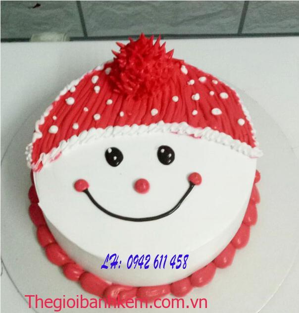 Bánh kem noel mã B2149