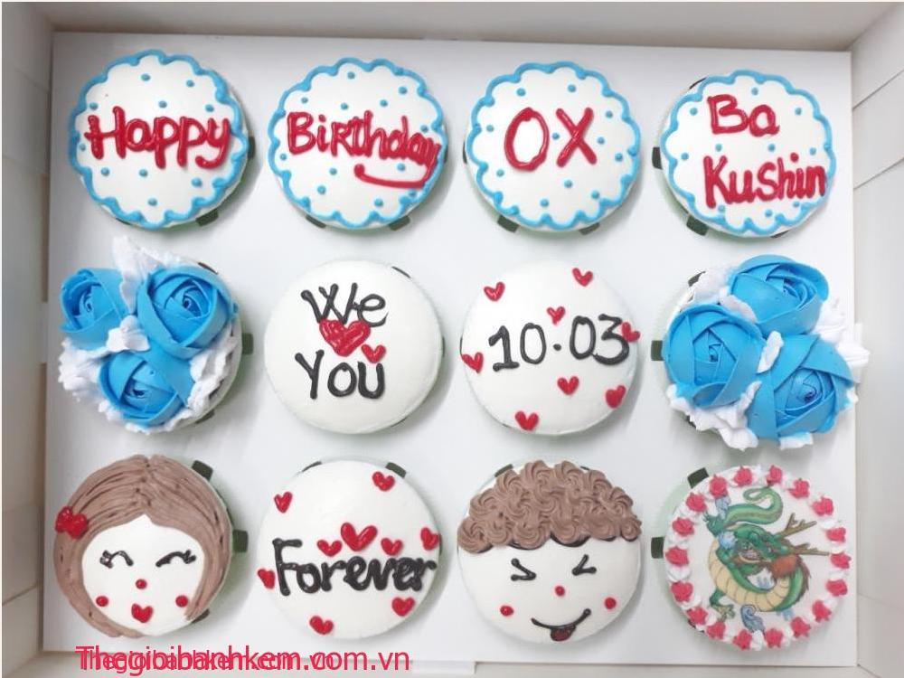 Bánh cupcake mã CC64