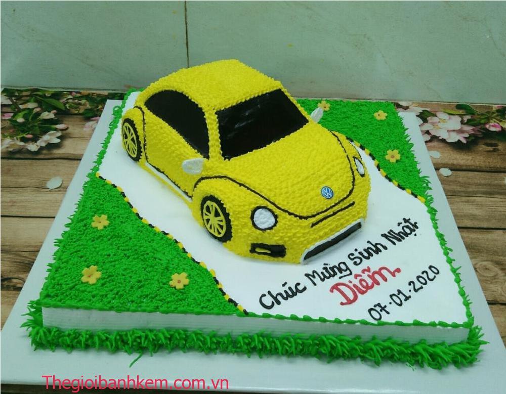 Bánh kem ô tô Mã B06062